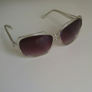 Nine West Clear Sunglasses